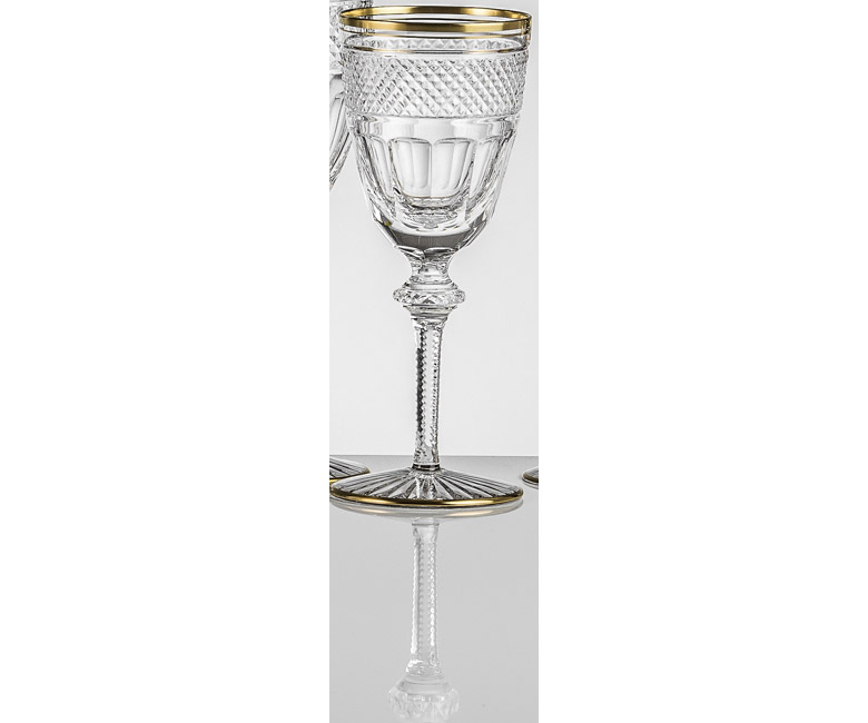 Набор хрустальных бокалов для красного вина на 6 персон Кантата