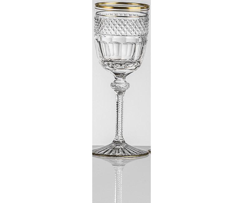 Набор хрустальных бокалов для белого вина на 6 персон Кантата