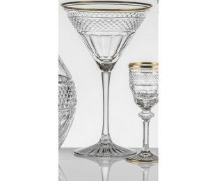 Набор хрустальных бокалов для коктейля, мартини на 6 персон Кантата