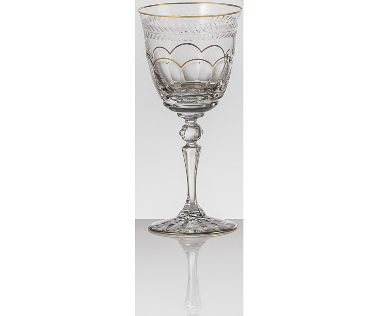 Набор хрустальных бокалов для красного вина на 6 персон Шенонсо