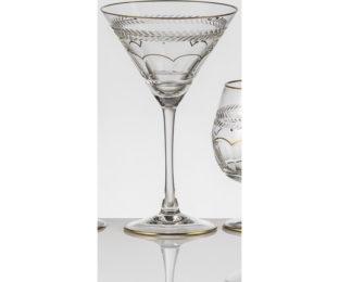 Набор хрустальных бокалов для коктейля, мартини на 6 персон Шенонсо