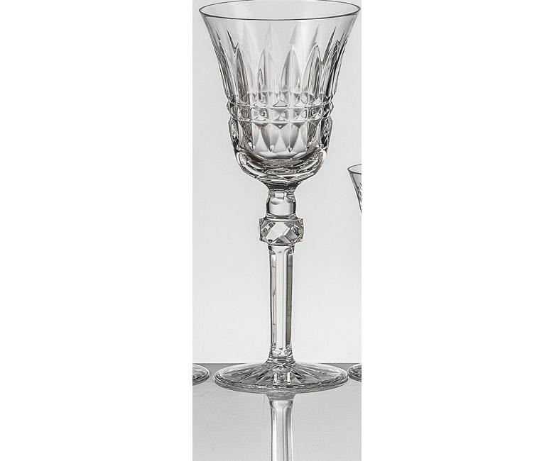 Набор хрустальных бокалов для красного вина на 6 персон Мелодия