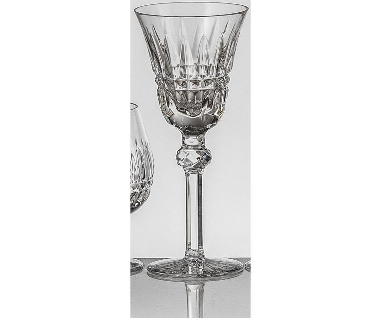 Набор хрустальных бокалов для белого вина на 6 персон Мелодия