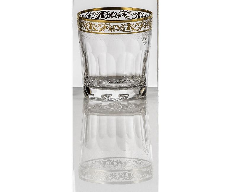 Набор хрустальных бокалов для виски на 6 персон Опера Золото|Платина