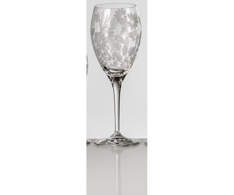 Набор хрустальных бокалов для белого вина на 6 персон Сарабанда