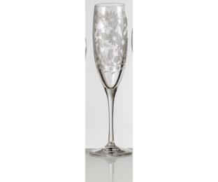 Набор хрустальных бокалов для шампанского на 6 персон Сарабанда