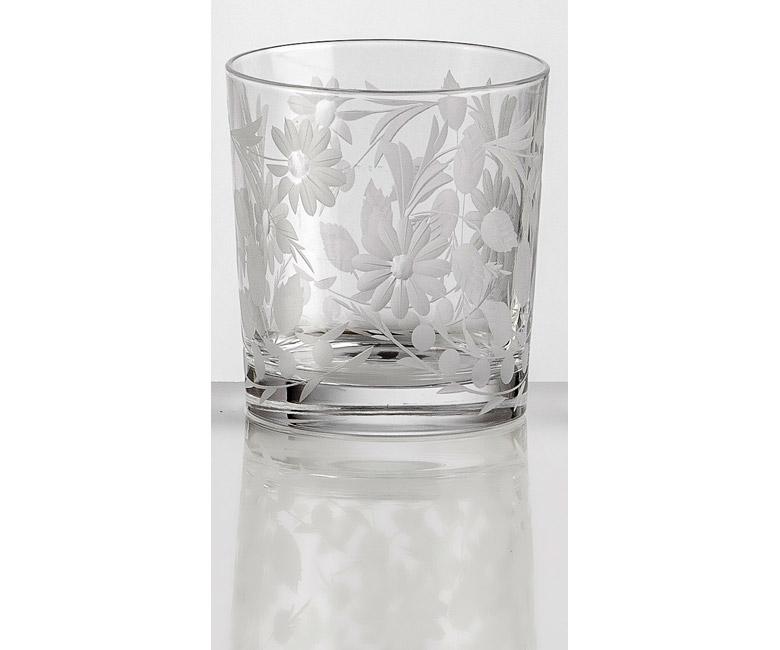 Набор хрустальных бокалов для виски на 6 персон Сарабанда