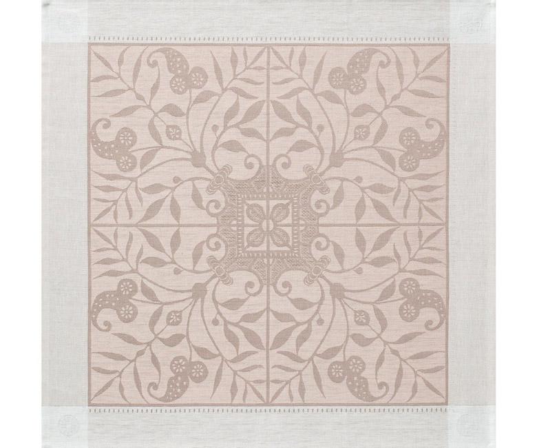 """Льняная салфетка из длинных волокон """"Venezia"""" 58x58 см Le Jacquard Francais (Франция)"""