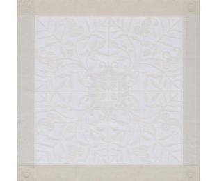 """Хлопковая салфетка из длинных волокон """"Venezia Ivoire"""" 58x58 см Le Jacquard Francais (Франция)"""