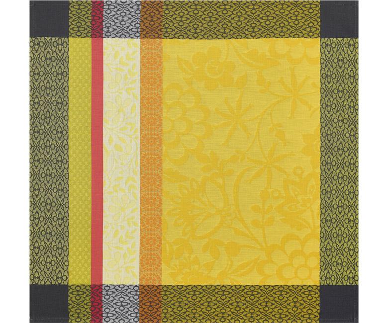 """Хлопковая салфетка из длинных волокон """"Provence"""" 58x58 см Le Jacquard Francais (Франция)"""
