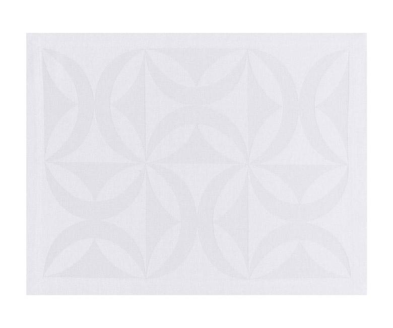 """Хлопковые подстановочные салфетки (плейсматы) из длинных волокон """"Ellipse"""" 47x36 см Le Jacquard Francais (Франция)"""