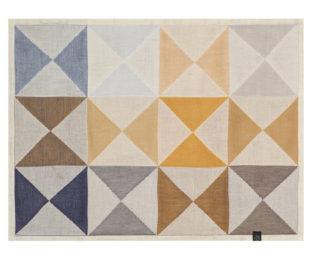 """Хлопковые подстановочные салфетки (плейсматы) из длинных волокон """"Origami"""" 48x36 см Le Jacquard Francais (Франция)"""