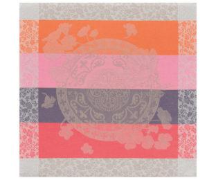 """Хлопковая салфетка из длинных волокон """"Fleurs Gourmandes"""" 58x58 см Le Jacquard Francais (Франция)"""