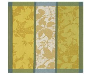 """Хлопковая салфетка из длинных волокон """"Feuillage"""" 52x52см Le Jacquard Francais (Франция)"""