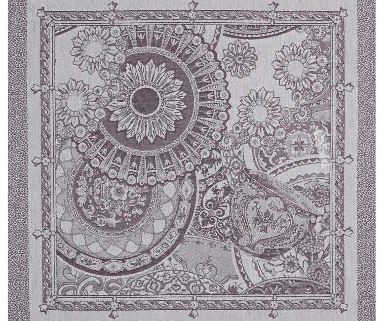 """Хлопковая салфетка из длинных волокон """"Porcelaine"""" 58x58 см Le Jacquard Francais (Франция)"""