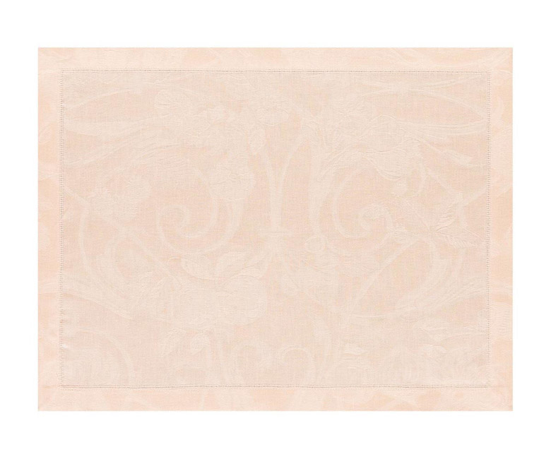 """Льняные подстановочные салфетки (плейсматы) из длинных волокон """"Tivoli"""" 50x38 см Le Jacquard Francais (Франция)"""