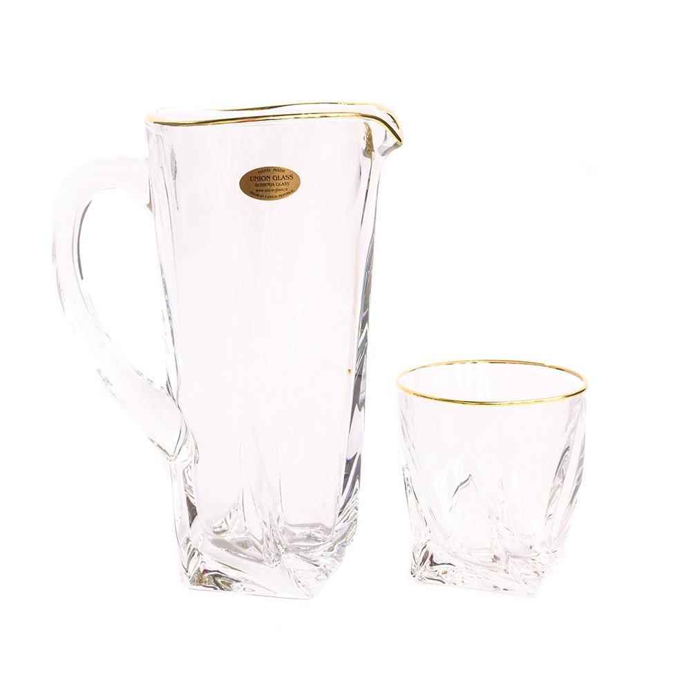 "Набор для воды на 6перс.7пред.""Квадро 1"", Union Glass"